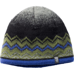 Jack Wolfskin Colorfloat Knit Cap Kids cypress green
